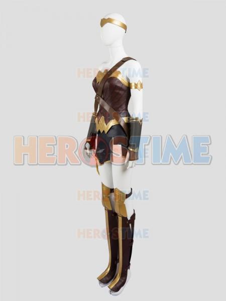 Batman v Superman Dawn of Justice Wonder Woman Diana Cosplay Costume Full Set & Batman v Superman: Dawn of Justice Wonder Woman Diana Cosplay ...