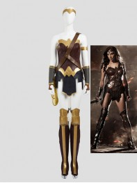 Batman v Superman: Dawn of Justice Wonder Woman Diana Cosplay Costume Full Set