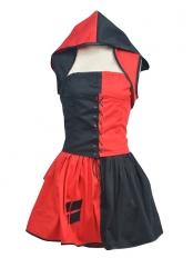 Batman:Arkham City Harley Quinn Dress Cosplay Costume