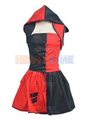 Batman:Arkham City Harley Quinn Dress Cosplay Costume