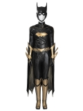 Batman: Arkham Knight Batgirl Deluxe Girls Superhero Cosplay Costume