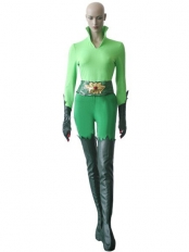 Batman series Poison Ivy Female Supervillain Cosplay Costume