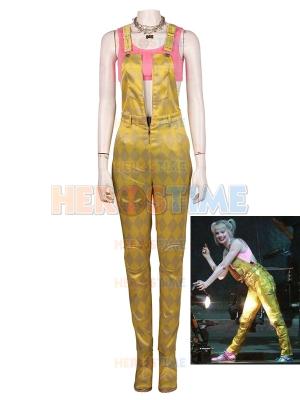 Harley Quinn Birds of Prey Pink & Gold Full Set