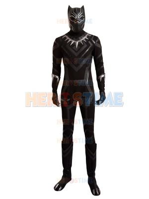 Captain America: Civil War Black Panther Cosplay Full Set