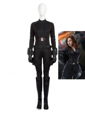 Captain America: Civil War Black Widow Cosplay Costume