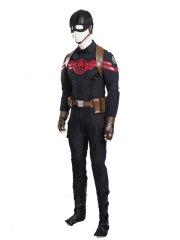 Captain America Hydra Supervillain Cosplay Costume