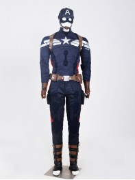 Captain America: The Winter Captain America Superhero Cosplay Costume