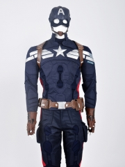 Captain America: The Winter Captain America Superhero Cosplay Costume