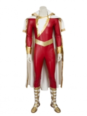 Captain Marvel Shazam DC Comics Superhero Costume