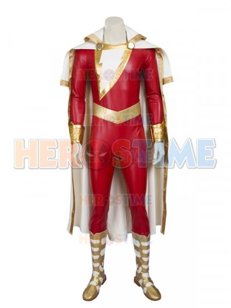 Captain-Marvel Shazam Superhero Costume