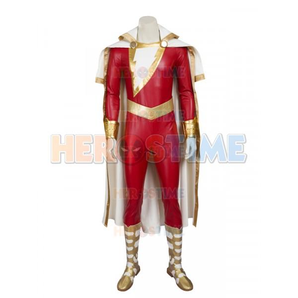 Captain Marvel Shazam Dc Comics Superhero Costume Captain marvel is new to the mcu, but many fans wish to put on the costume! captain marvel shazam dc comics