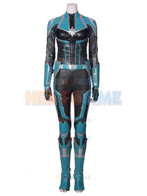Captain-Marvel Cosplay Costume Carol Danvers Women Superhero Costume