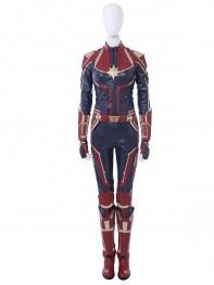 Carol Danvers Costume Captain-Marvel Cosplay Costume