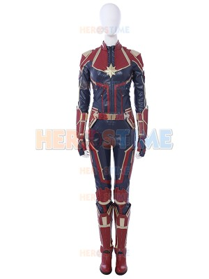 Carol Danvers Costume Captain-Marvel Cosplay Costume