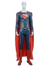 Classic Man of Steel Superman Cosplay Costume
