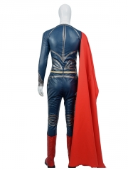 Classic Man of Steel Superman Cosplay Costume