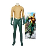Classic The Justice League Aquaman Cosplay Costume