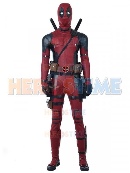 2018 Newest Deadpool 2 Deluxe Cosplay Superhero Costumes