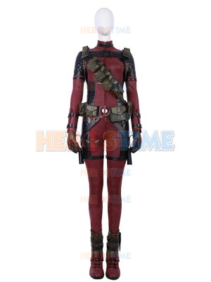 2018 Newest Lady Deadpool Deluxe Cosplay Superhero Costumes