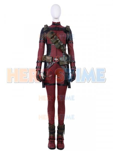 2018 Newest Lady Deadpool Deluxe Cosplay Superhero Costumes