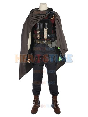 Cable Superhero Suit Deadpool 2 Cable Dexlue Cosplay Costume