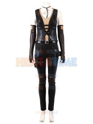 Deadpool 2018 Deadpool 2 Domino High-end Cosplay Costume