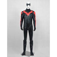Deluxe Nightwing Red Robin Superhero Cosplay Costume