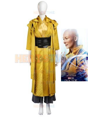 Doctor Strange Ancient One Strong Mens Superhero Cosplay Costume