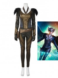 Green Arrow Hawkgirl Female Superhero Cosplay Costume