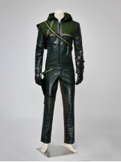 Green Arrow Season 1 Oliver Superhero Cosplay Costume