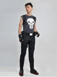 Hot The Punisher Superhero Cosplay Costume