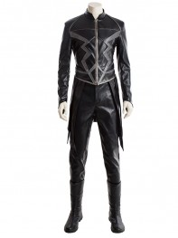 Inhumans Cosplay Costume Black Bolt Suit