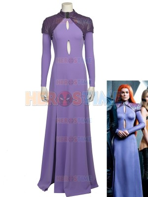 Inhumans Cosplay Costume Medusa Suit