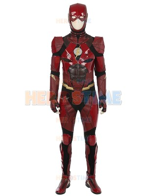 File Justice League Superhero Flash Cosplay Costume