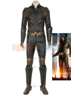 Superhero Film Justice League Aquaman Cosplay Costume