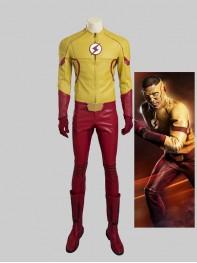 Newest The Flash 3 Kid Flash Cosplay Costume