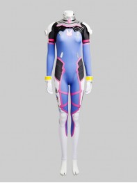 Overwatch D.Va Game Girl Cosplay Costume