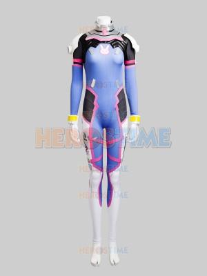 Overwatch D.Va Game Girl Cosplay Costume