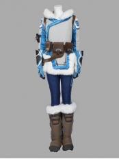 Overwatch Mei Girl Winter Superhero Cosplay Costume