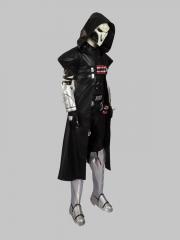 Overwatch Reaper Gabriel Reyes Superhero Cosplay Costume