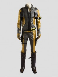 Overwatch SOLDIER:76 Gold Verson Cosplay Costume Full Set