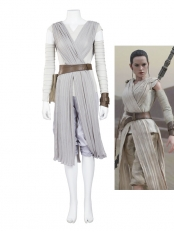 Star Wars Rey Movie Cosplay Costume