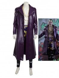 Suicide Squad Supervillain Joker Upgrade Version Cosplay Costume