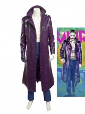 Suicide Squad Supervillain Joker Cosplay Costume