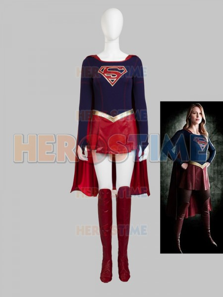 sc 1 st  Herostime.com & Supergirl Kara DC Comics Superhero Cosplay Costume