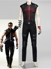 The Avengers 2 Age of Ultron SHIELD Hawkeye Cosplay Costume