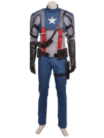 2017 Deluxe Captain America Superhero Costume