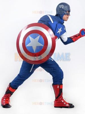 Avengers : Age of Ultron Captain America Mens Deluxe Superhero Costume