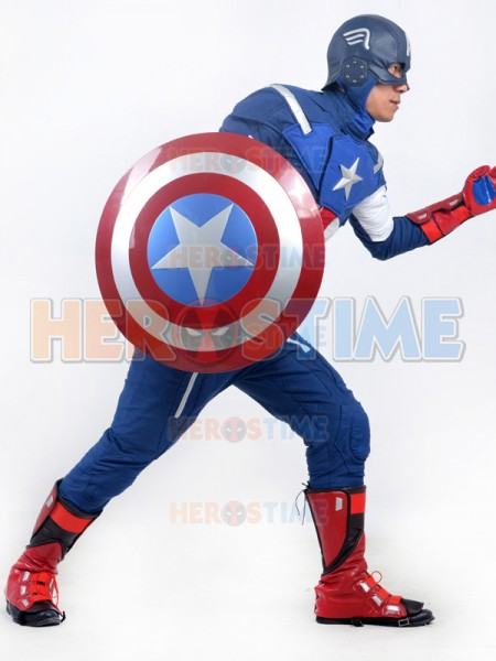 & Avengers : Age of Ultron Captain America Mens Deluxe Superhero Costume