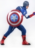 Avengers : Age of Ultron Captain America Mens Deluxe Superhero Costume